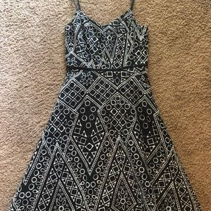 Banana Republic Embroidered Dress